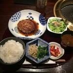 松阪苑 - 和牛ハンバーグ ¥1,380-