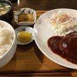 79635197 - ハンバーグ定食740円