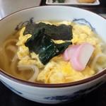釜喜 - 料理写真:玉子とじうどん