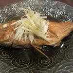 寿司 いいじま - 金目の煮つけ