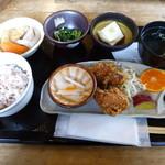 夢市茶屋 - 古代米御膳