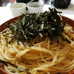 HIDE - タラコとツナのスパゲッティ大盛