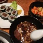 焼肉 大栄 - タンシチュー、肉巻き飯、