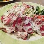 ブリランテ - 季節野菜のローストとローストビーフのサラダプレート