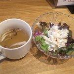 コーボリッコ - カップスープ&サラダ(2017.12)