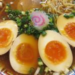 気仙沼 かもめ食堂 - 『気仙沼 かもめ食堂』をプロデュースした『ちばき屋』は なんと『半熟煮玉子の元祖』のお店らしいです。