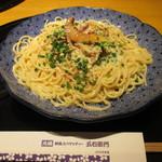 五右衛門 - 料理写真:伊達鶏と白神あわび茸の豆乳クリーム