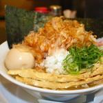まぐちゃんラーメン - 得製ゆず花かつおラーメン1050円