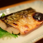 直菊 - 焼魚 塩サバ@500円