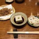 沙伽羅 - 蕎麦豆腐