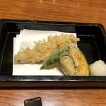 沙伽羅 - 朝〆穴子天ぷら