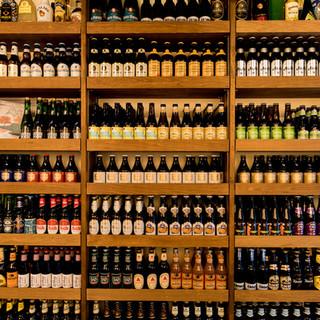 高品質なクラフトビールが100種以上!飲み放題も有!