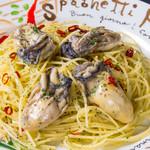 牡蠣のペぺロンチーノ