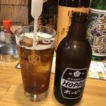 立ち飲み大松 - ホッピーリターナル瓶が良いんですよねー