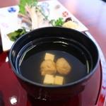 和食 瑞花 - いわしのつみれ汁