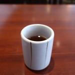 和食 瑞花 - 熱いほうじ茶