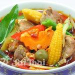 ジャイタイ パレス - BSフジ「大使館の食卓」にて紹介された牛肉と野菜の激辛煮込みカレー