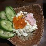wasabiizakayaanagura - わさびポテトサラダ
