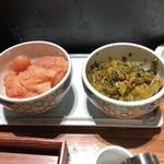やまや - 明太子と辛子高菜