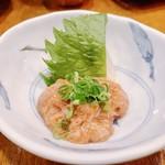藤よし - 鯛ワタ美味かよね!