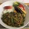 ルーキー - 料理写真:キーマほうれんそうの野菜トッピング 950円
