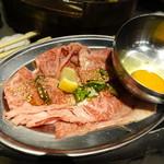 立喰☆焼肉 瑞園 - スキヤキ焼くね