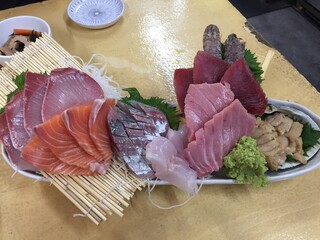 タカマル鮮魚店 - 海鮮盛り合わせ
