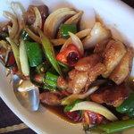 Neo Thai - 鶏と野菜とカシューナッツ炒め