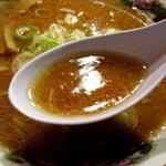 梅光軒 - 香ばしい醤油スープ!