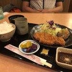 桜小町 - 料理写真:バーグ&ロース定食