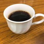 ケヤキ - 食後のコーヒーです。(2018.1 byジプシーくん)