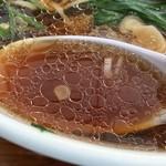 手打ちラーメン いまの家 - スープ