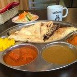 New Delhi Spice - 週末はバイキング。カレー3種、サフランライス、ナン5種など