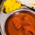 New Delhi Spice - サフランライスとバターチキン