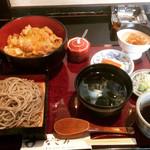 そば和食なごみ - 親子丼とミニせいろ  ¥1680-