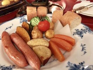 ロード・レーウ - チーズフォンデュ(1,980円)の野菜