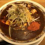 辛っとろ麻婆麺 あかずきん - 【2018.1.15】辛っとろ麻婆麺。