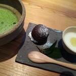 Oomurokeishokudou - デザートとお茶