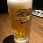 79664542 - まずは生ビールですね