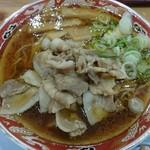 らーめん秋田 ひない軒 - 肉肉ラーメン 700円