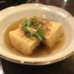 赤のれん - 揚げだし豆腐