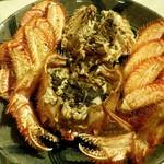 シロクマ食堂 - 茹で活蟹