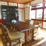 お寺んち 茶茶 - テーブル席1組(完全個室)