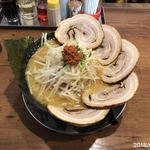 麺屋 しゃがら - みそちゃーしゅうめん(大盛り.もやし増し)¥970