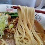 みっていラーメン - 中太で食べ応えのある麺