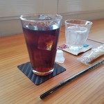 いとカフェ - セットのアイスコーヒー