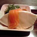 京の坦々麺と鉄板居酒屋 四条 竹 - 付き出し