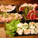 スタミナ御殿 - 御殿盛 キムチとポテトサラダがついて2800円!!