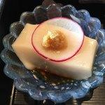美々卯 - ごま豆腐