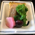 美々卯 - 前菜